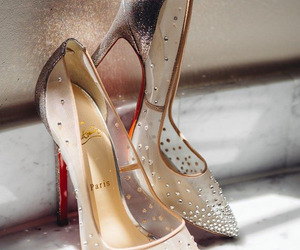 shoes, christian louboutin, and heels image