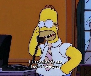 simpsons, homer, and funny image