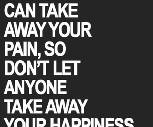 quote, happiness, and pain image