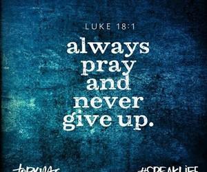 god, pray, and love image