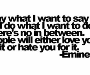 eminem, quote, and text image