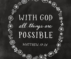god, possible, and quote image