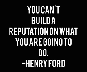 quote, work hard, and henry ford image