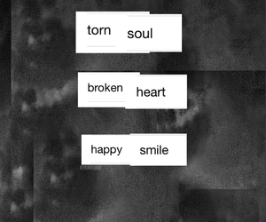 broken heart, cry, and depress image