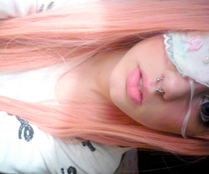 eye patch, pearls, and white\ image