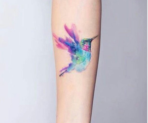 bird, tattoo, and arm image