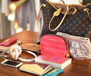 bags, glam, and purses image