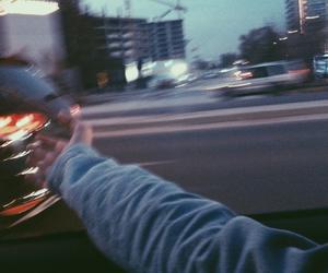 grunge, car, and city image