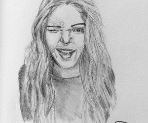artist, pencil sketch, and confidence image