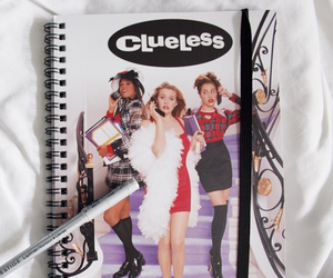 Clueless, film, and notebook image