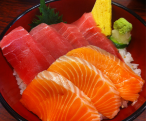 fishes, food, and japanese image