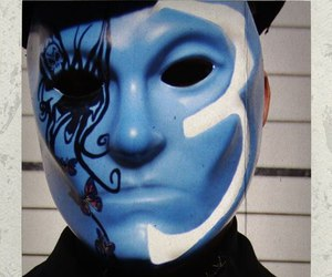 mask, photo, and hollywood undead image