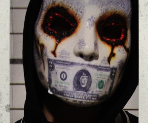 mask, hollywood undead, and j-dog image