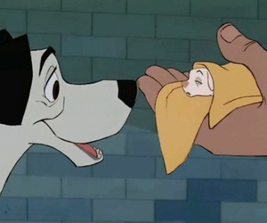 101 dalmatians, animation, and dogs image