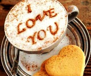 coffee, heart, and I Love You image