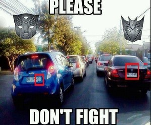Autobot, cars, and decepticon image