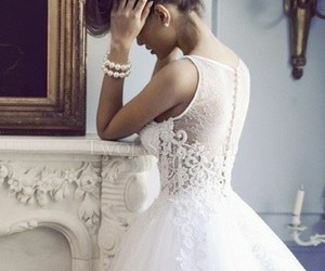 wedding, white, and cute image