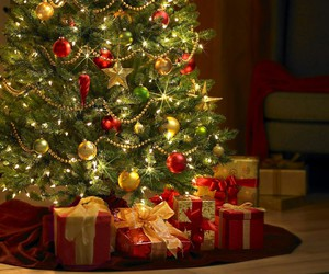 new year, presents, and beatiful image