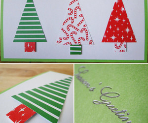 christmas, homemade christmas cards, and christmas 2014 image