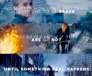 brave, warrior, and tris image