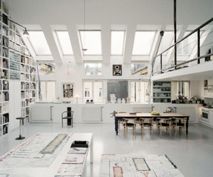 art, home, and white image