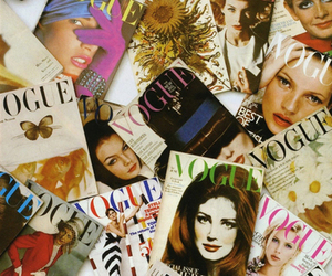 vogue and magazine image