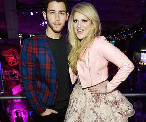 jonas brothers, nick jonas, and meghan trainor image