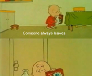 charlie brown and goodbyes image