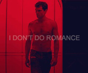 romance, fifty shades, and christian grey image