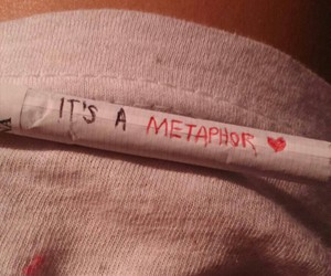 cigarette, metaphor, and the fault in our stars image