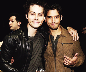dylan o'brien, tyler posey, and teen wolf image