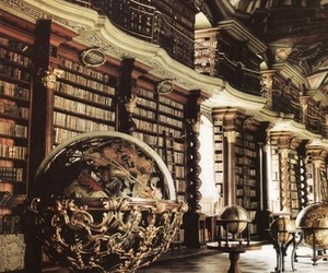 books, Dream, and library image