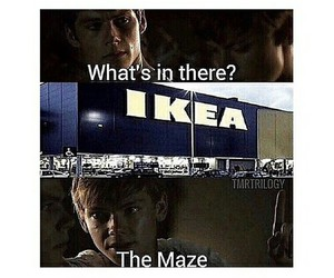 ikea, funny, and dylan o'brien image
