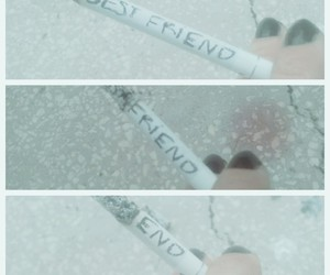 end, friend, and bestfriend image