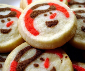Cookies, christmas, and snowman image