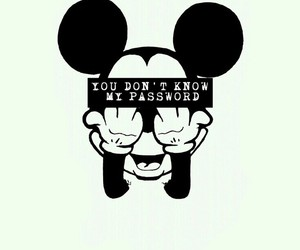 background, iphone, and mickey image