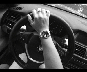 auto, black, and bmw image