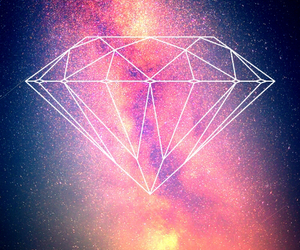 diamond, space, and swag image