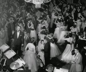 dance, vintage, and ballroom image