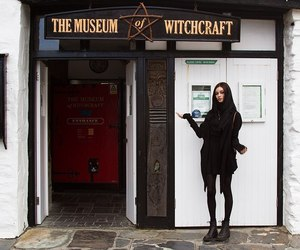 witchcraft, black, and museum image