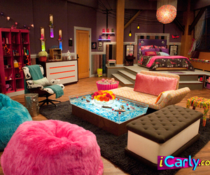 icarly, bedroom, and room image