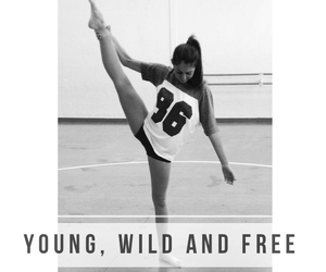 dance, free, and wild image