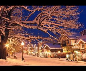 christmas, decoration, and street image