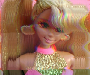 barbie, grunge, and 90s image