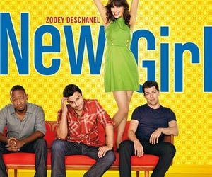 fox, zooey deschanel, and new girl image