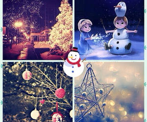 christmas, dreamy, and snow image