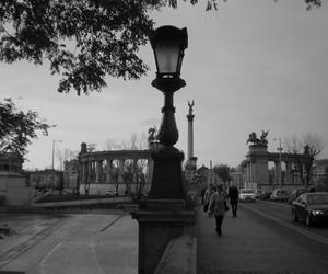 bridge, city, and budapest image