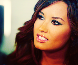 demi lovato, demi, and eyes image