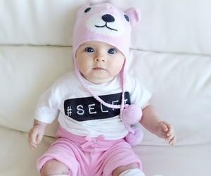baby, cute, and selfie image
