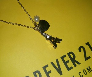 eiffel tower, forever 21, and jewellery image